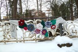 Schlossgarten im Winter