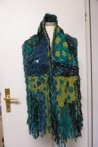 Schal Crazy Wool