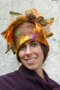 Hut aus Nunofilz