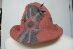 Hut aus Filz