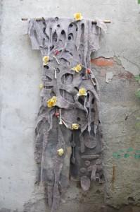 Wandbehang Kleid