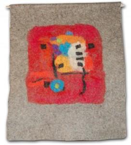 """Wandbehang """"Hommage an Paul Klee"""""""